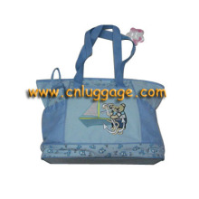Mode sac momie bleu