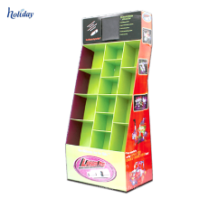 Équipement résistant de supermarché de support de palette d'exportation de stockage d'affichage de carton de papier