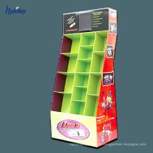 Grande equipamento de papel do supermercado da cremalheira da pálete da exportação do armazenamento da exposição do cartão