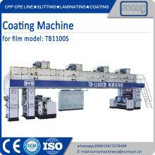 PET BOPP film 0.012-0.050mm Film coating machine