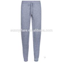 Mulheres de moda 100% Cashmere Super Warm Pants