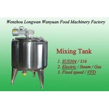 500L Electric Heating VFD Mixing Tank Blending Tank