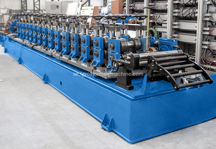 High Speed ​​U Purlin Roll Forming Machine