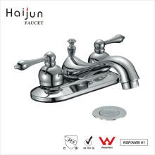 Haijun 2017 Hot Sale cUpc 3 furos com alça dupla torneira misturadora de bacia de lavatório