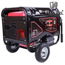 Générateur d'essence électrique silencieux de générateur de l'essence 4.5kVA avec des roues et des poignées