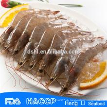 HL002 Garnelen Exporteure Meeresfrüchte gefrorene rohe vannamei weiße Garnelen