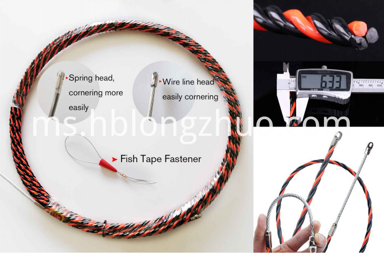 Fish Tape Electrical Wire Threader Wire Puller