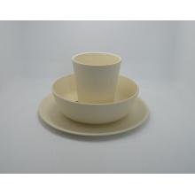 (BC-CS1060) Eco fibra de bambu Mesa / série de combinação de utensílios de cozinha para crianças