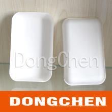 Rectangle Disposable and Biodegradable Snack Paper Tray