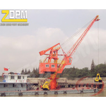 Kran/Dock Kran/Lastkähne Kran/Winde Kran/Hafen Schwimmkran