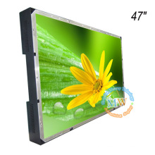 """TFT color 47"""" open frame LCD monitor with high brightness 1000 nit"""