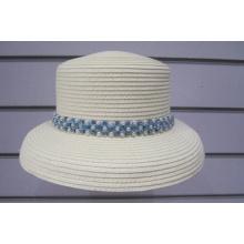 Chapéus de sol aparados pérolas de trança de papel fino