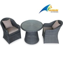 patio rattan table & chair