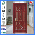 JHK-018 Natural Oak New Design  Laminate Wood Door