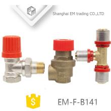 EM-F-B141 Reducer Tee for pex al pex brass forged Press fitting