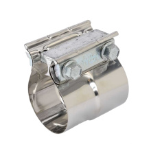 """2.0"""" 2.25"""" 2.5"""" 3.0"""" 4.0"""" 5"""" Stainless Steel Lap Joint Exhaust Band Clamp"""