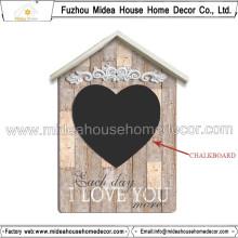 Atacado China Decorative House Wooden Chalkboard