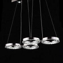 two color led crystal pendant lighting and lights