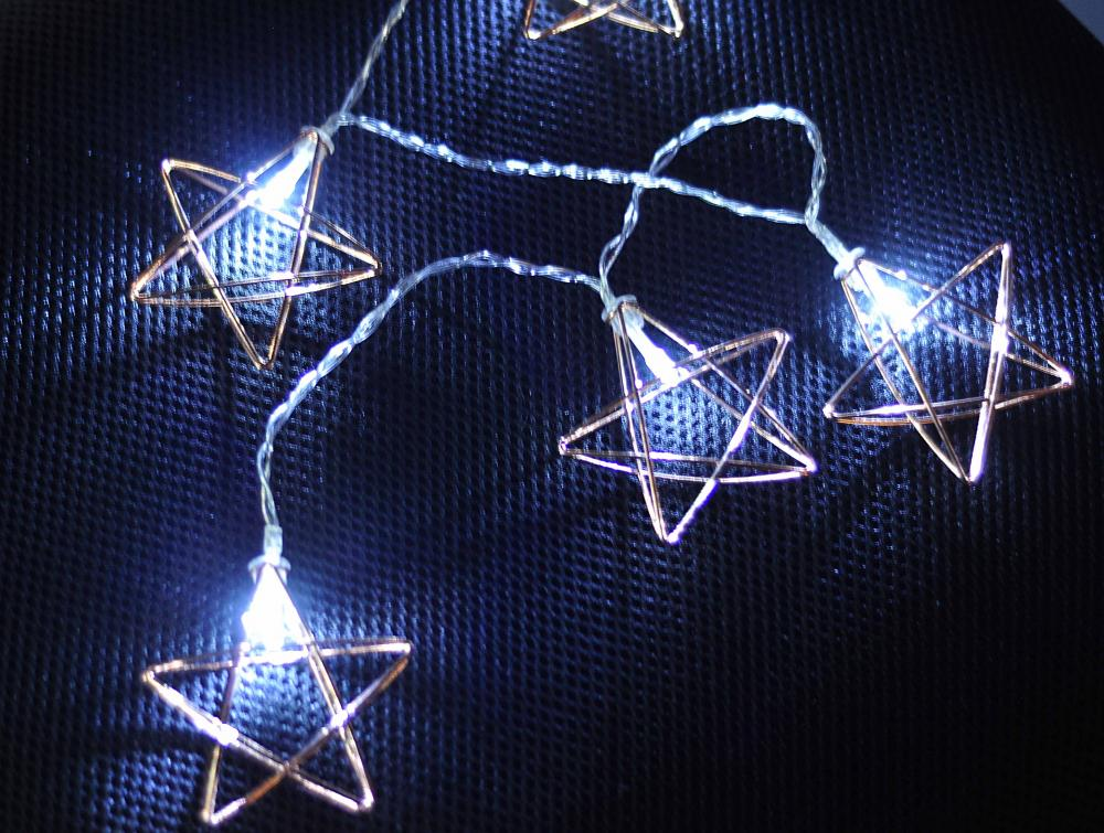 String Star Wired 10 LED with Try Me