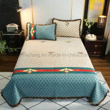 Luxury Hotel Bedspread Queen Reversible All-Season