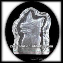 K9 Crystal Intaglio do molde S070