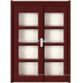 PVC Slide Door With Glass/Wood Door/MDF(JKD-M698)