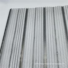 china manufacturer metal mesh galvanized high rib slats