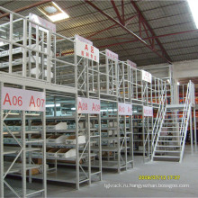 Китай Производитель 2 уровня мезонина со стальной решеткой