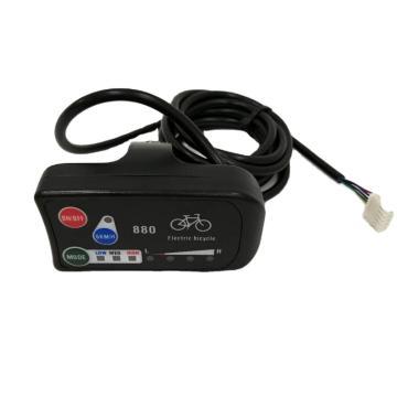 Display Ebike LCD LED LED880 para controlador de kt