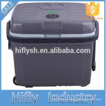 HF-40L DC 12 V / AC 220 V geladeira carro refrigerador do carro caixa de refrigeração mini refrigerador do carro portátil (certificado do CE)