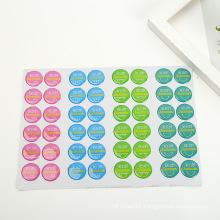 Custom 3D Fridge Buttons Clear Logo Resin Dome Epoxy Sticker