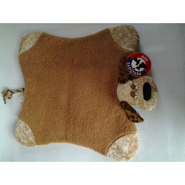 Pet Bed Dog Mat with Rope Tail and Squeaker