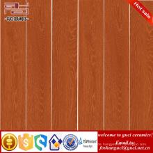 Fabrikverkauf heiße Verkaufsprodukte Orange rustikale hölzerne keramische Bodenbelagfliese