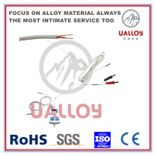 Câble de fibre de verre K-Type Thermocouple Compensation