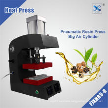 Xinhong New Arrival Dual Heating Platens Pneumatic Rosin Press
