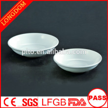 Factory direct wholesale round porcelain sauce dish
