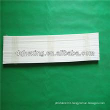 white virgin plastic teflon strip