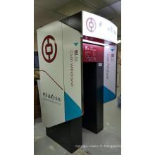 Boîtes à lumière d'atmosphère de banque d'affichage de la publicité de LED