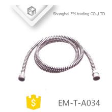 EM-T-A034 1.5m Sanitary accesorio de instalación de baño manguera de ducha de cobre