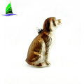 Ornamento colgante de cristal del golden retriever