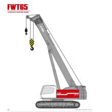 FWT65 Telescopic Crawler  Crane For Sale