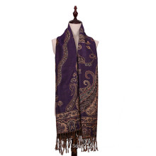 Warm Scarf 100% Polyester Pashmina for Lady