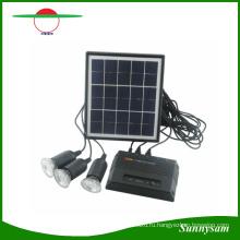 Систему 4W солнечное зарядное устройство USB 5 в сотовых мобильных телефонов зарядное устройство домашней аптечки сад путь пейзаж Кемпинг Рыбалка Открытый освещения