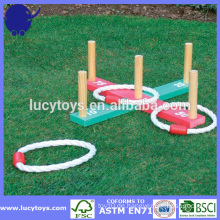 Garten Spiel Holz Ring werfen Spiel