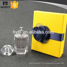 caja de empaquetado de papel vacía de alta calidad para botellas de perfume