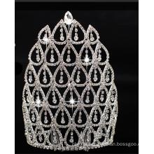 Bling lindo da festa de casamento com cristais de cristal