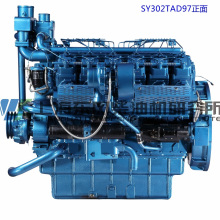 720kw, Shanghai Dongfeng Diesel Engine para Grupo Gerador / Motor de Força