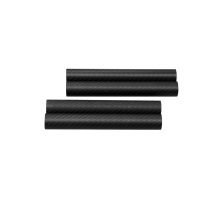 Round 3K Twill Matte Carbon Fiber Booms or Tubes for Multicopters or Drone Arms