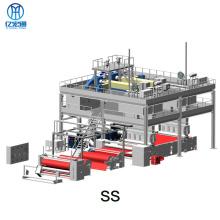 Máquina spunbond de PP de soplado en fusión de tela no tejida Double S