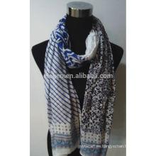Nueva bufanda de algodón de impresión de diseño